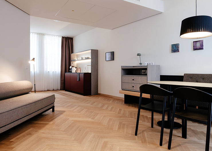 Melter Hotel & Apartments Nürnberg Deluxe Apartment