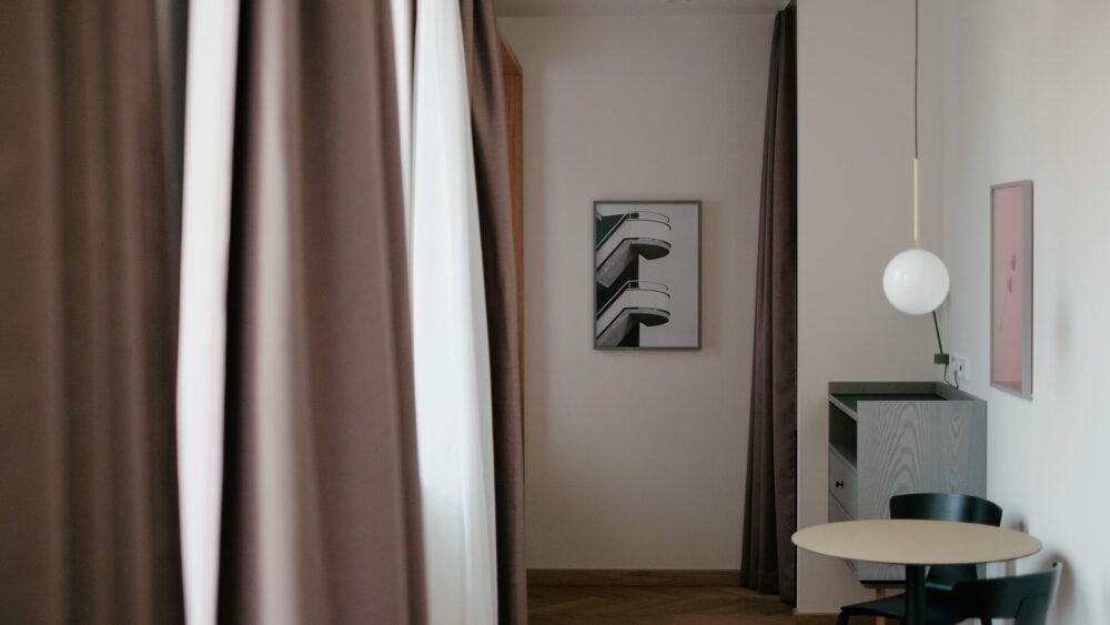 Melter Hotel & Apartments Nürnberg Komfort Apartment Inneneinrichtung