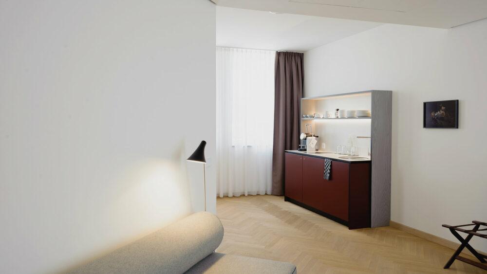 Melter Hotel & Apartments Nürnberg Deluxe Apartment Küchenzeile
