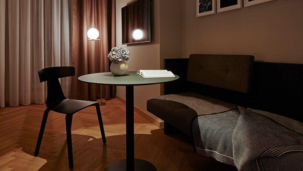 Melter Hotel & Apartments Nürnberg Komfort Apartment Sitzecke