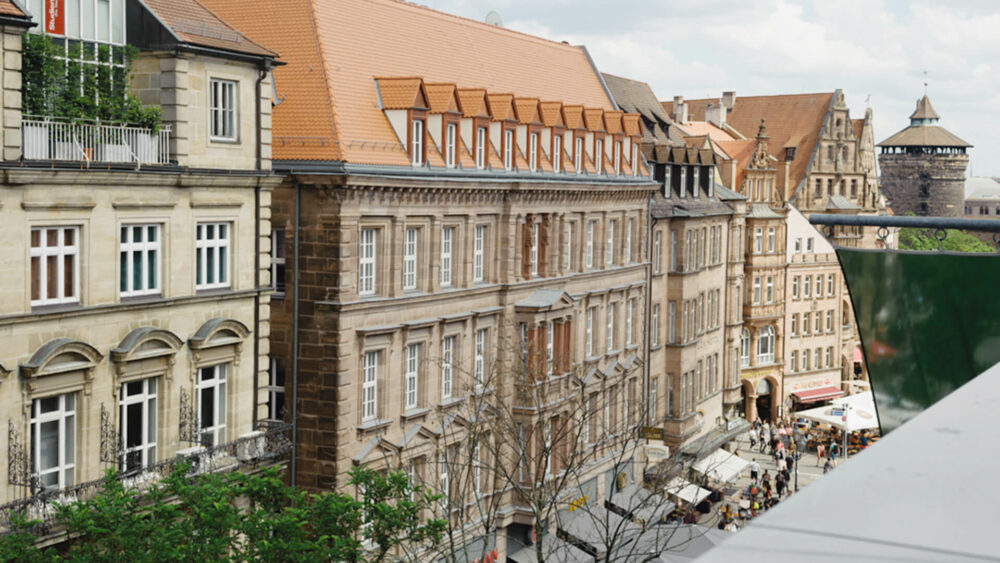 Melter Hotel & Apartments Nürnberg Außenansicht